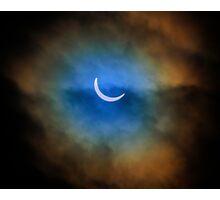 The Solar Eclipse 3 Photographic Print