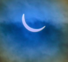 The Solar Eclipse 3 Sticker