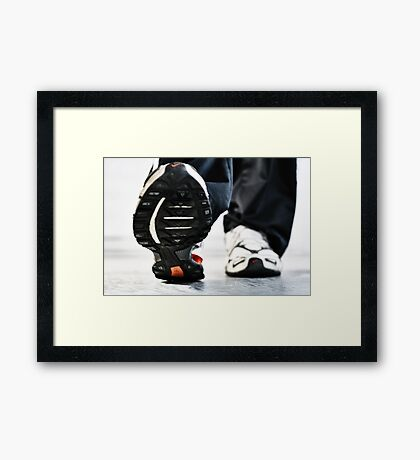 A Bug's Perspective Framed Print