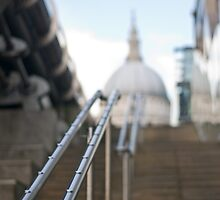 Stairway to St Pauls by Ian Tilly