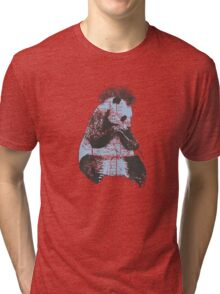 Subway Panda  Tri-blend T-Shirt
