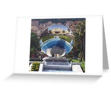 Mirror of Monte Carlo Greeting Card