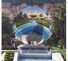 Mirror of Monte Carlo Photographic Print