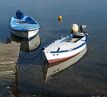 FISHING BOATS MEDITERRANEAN by SofiaYoushi