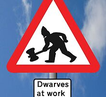 Dwarves at Work by Vince Fitter