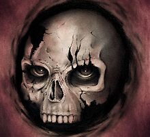 Skull by Puddingshades