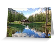 Lake Ghedina Greeting Card