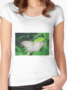 butterfly Women's Fitted Scoop T-Shirt