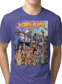 SheVibe Takes On Key West Fantasy Fest Tri-blend T-Shirt