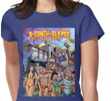 SheVibe Takes On Key West Fantasy Fest Womens Fitted T-Shirt