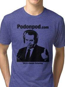 Pod on Pod Store Tri-blend T-Shirt
