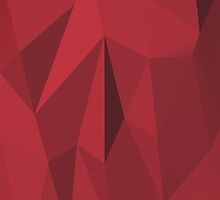 Red Polygon by Emothica