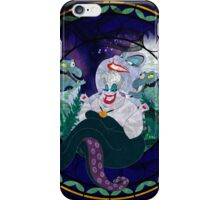 Ursula Stained Glass iPhone Case/Skin