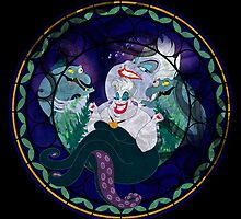 Ursula Stained Glass by MazukiArts