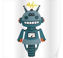 Cute little Robot Poster