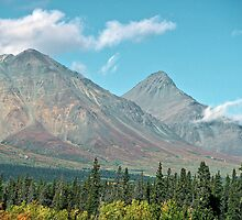 St. Elias Mountains - Yukon Territory by Harry Snowden