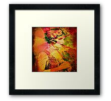 """ A woman is love, glory and hope! "" Framed Print"