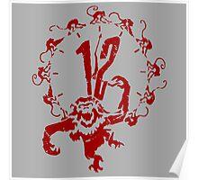 A Dozen Simians Poster