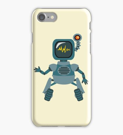Cute little Robot iPhone Case/Skin