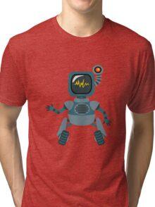 Cute little Robot Tri-blend T-Shirt