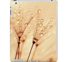 droplets of liquid gold iPad Case/Skin