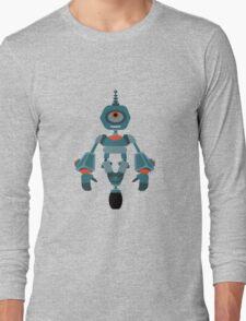 Cute little Robot Long Sleeve T-Shirt