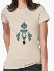 Cute little Robot Womens Fitted T-Shirt