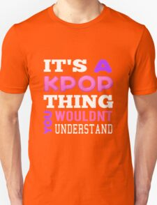 A KPOP THING - BLACK T-Shirt