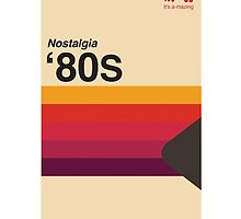 VHS Tape Cover Nostalgia Parody T-shirt by oneliner