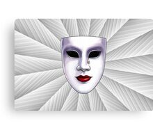 Masked Emotions Wall Art Canvas Print