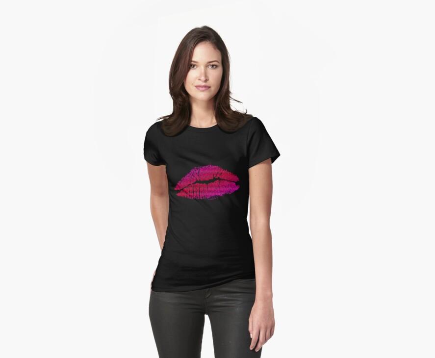 Lips kiss love sex by Stuart Stolzenberg