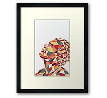 Geometric Harry Framed Print
