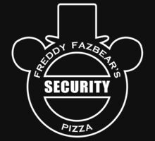Freddy Fazbear's Security shirt by oriana132