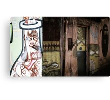 Melbourne Graffiti-Artist Deb Canvas Print