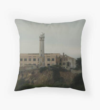 Alcatraz - San Francisco Throw Pillow