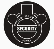 Freddy Fazbear's Security sticker by oriana132