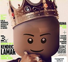LEGO Source - King Kendrick by OECKI