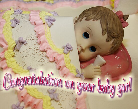 Congratulation on your baby girl by ZeeZeeshots