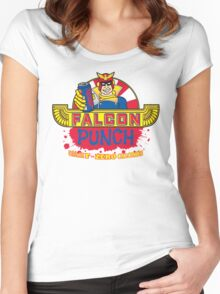 Falcon Punch Women's Fitted Scoop T-Shirt