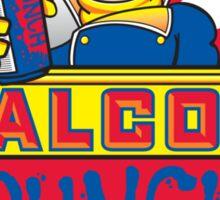 Falcon Punch Sticker