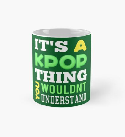 A KPOP THING - green Mug