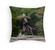 I Live There... Throw Pillow