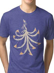 Ninetails Lines Tri-blend T-Shirt
