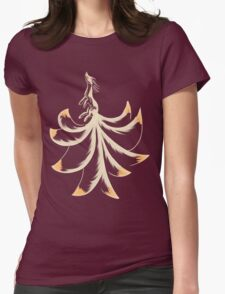 Ninetails Lines Womens Fitted T-Shirt