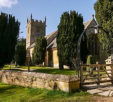 St Peter's Church, Stanway.  by ScenicViewPics
