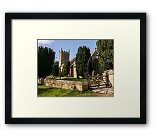St Peter's Church, Stanway.  Framed Print