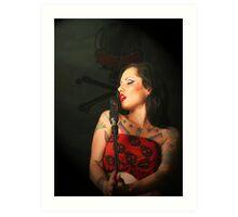 Songstress Art Print