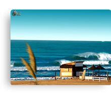 Playa Guillermo Canvas Print
