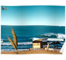 Playa Guillermo Poster