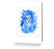 Om art print  Greeting Card